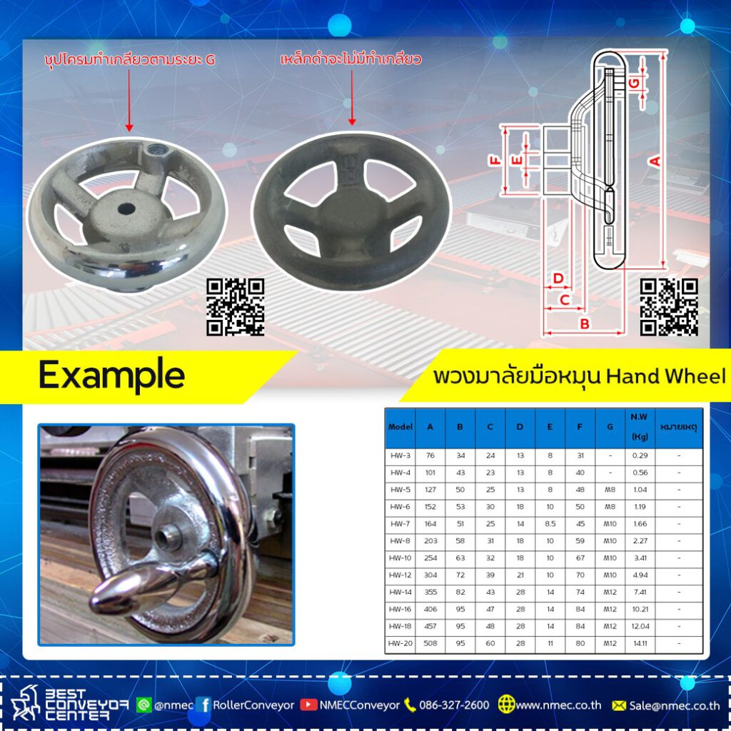Hand Wheel Steel
