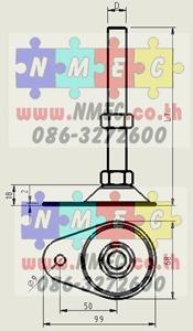 adj Foot 2.5 oval Plug